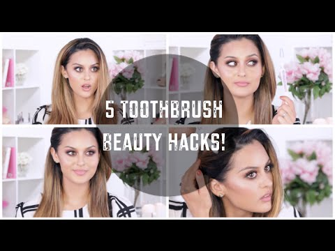 5 Toothbrush Beauty Hacks you need to know! l Christen Dominique
