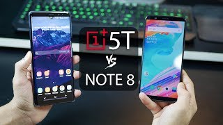 Galaxy Note 8 vs. OnePlus 5T - The Decision Maker! (4K)