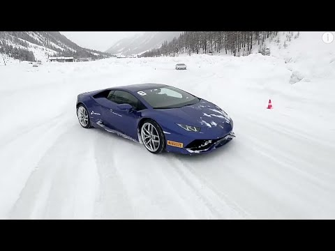 The ultimate ice driving experience: Lamborghini Winter Accademia