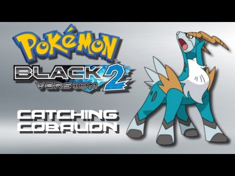 Pokemon Black 2: How to Catch Cobalion