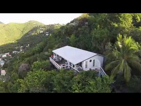 Drone Flight - Tour of the British Virgin Islands