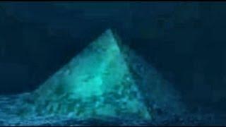 Crystal Pyramid in the Bermuda Triangle