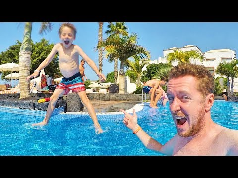 24 Hours in Lanzarote With 3 Kids | Family Travel Vlog