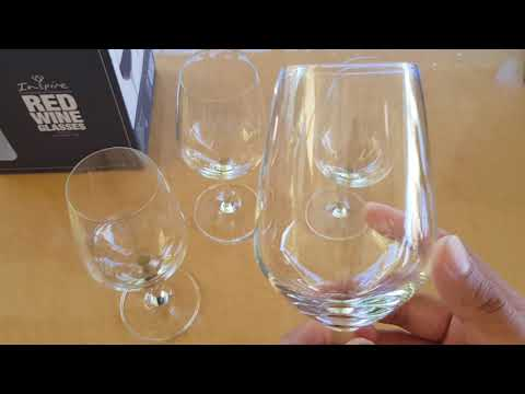 Unboxing and Reviewing of Woolworth Inspire Red Wine Glass