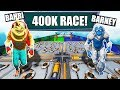 Two Bots Race For 400K VBUCKS default Deathrun