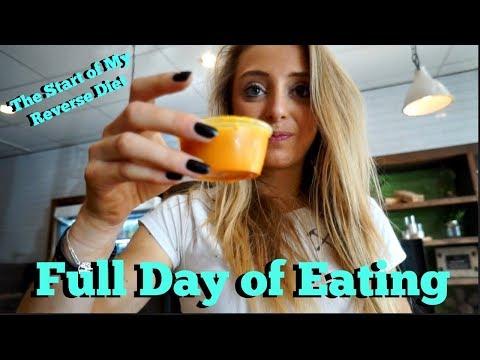 Full Day of Eating| The Start of My Reverse Diet