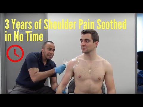 3 Years of Shoulder Tightness Relieved Before Your Eyes