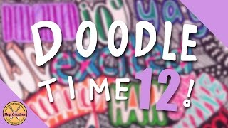 ✎ DOODLE TIME #12! || All The Happy Words ✎ (Megs Creations )