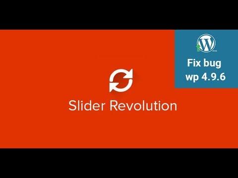 [Wordpress 4.9.6]  Revoslider fix bug Uncaught TypeError: CodeMirror.fromTextArea