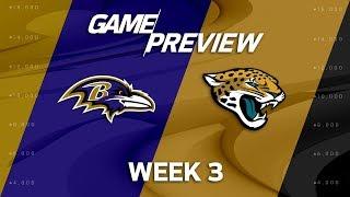 Baltimore Ravens vs. Jacksonville Jaguars | Week 3 Game Preview | NFL International Series | MTS