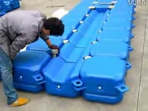 how to build the jet ski pontoon dock