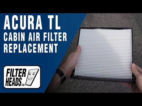 How to Replace Cabin Air Filter Acura TL