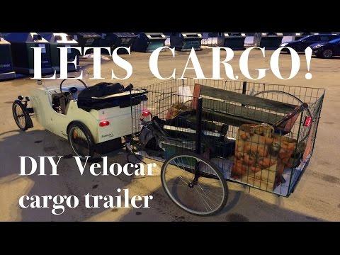 DIY Bicycle Cargo Trailer
