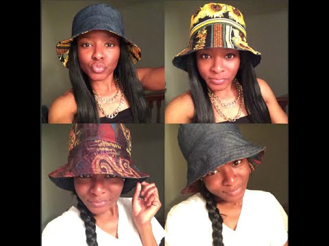 An EASY DIY: Reversible Bucket Hat Tutorial !