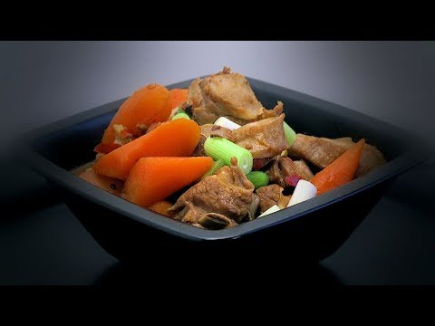 Chinese Braised Lamb Ribs (Chinese Spicy Cooking Recipe)