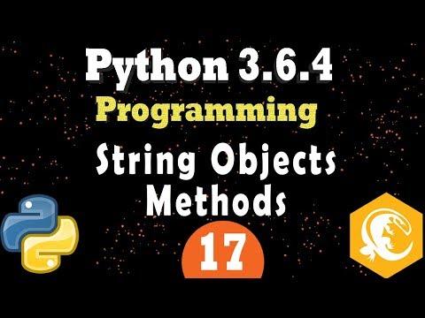 Python Strings Objects Formatting, Splitting | Manipulation [Text Data] (Programming Tutorial)