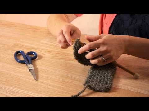 How to Bind Off a Knit Headband : Craft Projects