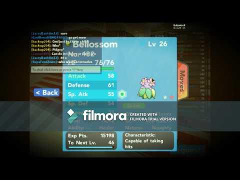 Pokemon Brick Bronze: Trading Shiny Hidden Ability Bellossom