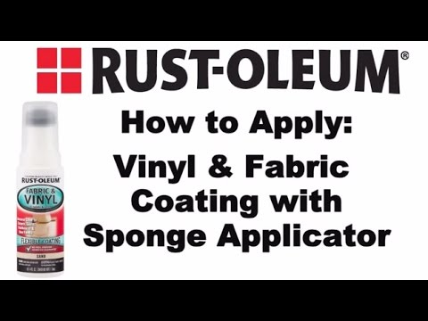 How to Video: How to Paint Vinyl and Fabric with Rust-Oleum