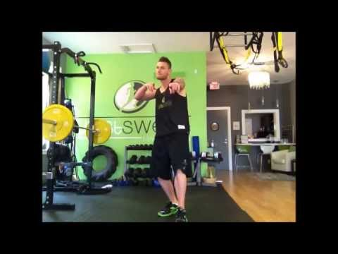 How To: Single Leg Alternating Deadlifts (Toe Touches) - Sweat of the Week 25