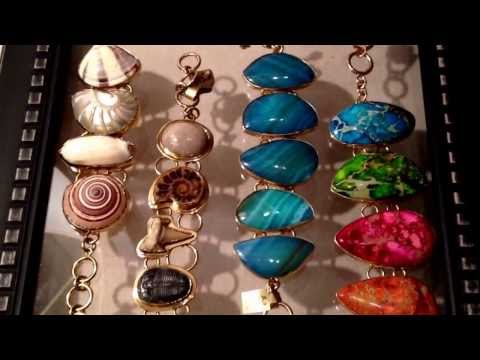 New Sea Shell and Beach Glass Jewelry for valentine's day at Teramasu