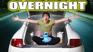 Trapped OVERNIGHT in My Car for 24 HOURS
