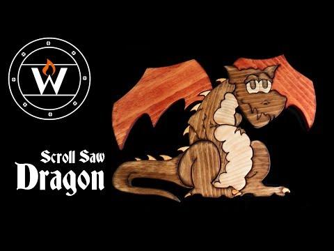 Scroll Saw Dragon
