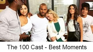The 100 Cast - Best moments