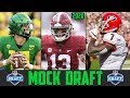 2020 NFL Mock Draft Tua Tagovailoa Justin Herbert Jake Fromm Grant Delpit Chase Young
