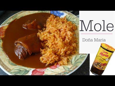 Mole Doña Maria, Facil, Rapido y Rico!
