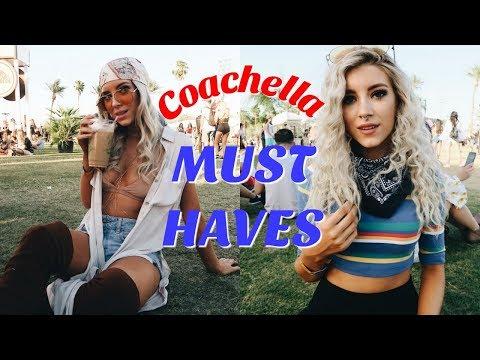 WHAT'S IN MY COACHELLA BAG | FESTIVAL ESSENTIALS