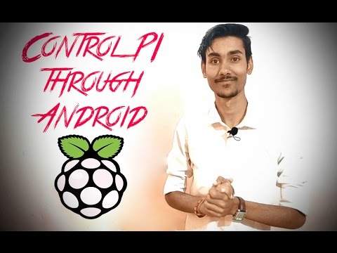 How to control Raspberry pi from Android or ios over wifi | Tutorial
