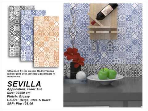 2016 Mariwasa Tiles and Applications