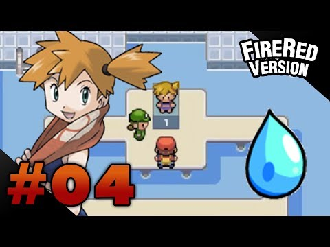 Let's Play Pokemon: FireRed - Part 4 - Cerulean Gym Leader Misty