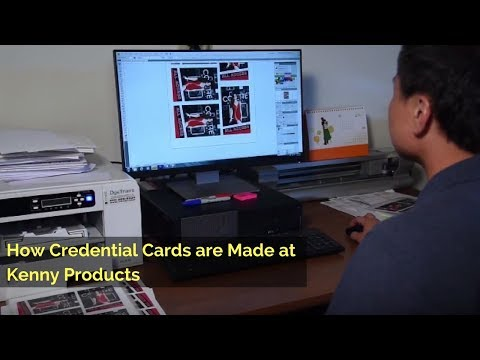 How Credential Cards Are Made at Kenny Products