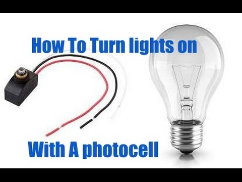 Installing Lights on A Photocell
