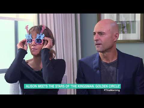 Halle Berry and Mark Strong Play 'Spies in Disguise' | This Morning