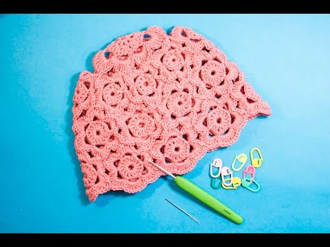 How to crochet hat Crochet  Sun Hat   WIKA crochet LIVE