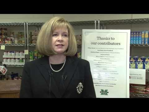 Marshall University:  Grand Opening of Marshall Food Pantry