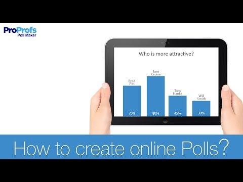 Create Online Poll - ProProfs Poll Software