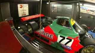 Group C Mazda 767b Dyno Test what a noise..