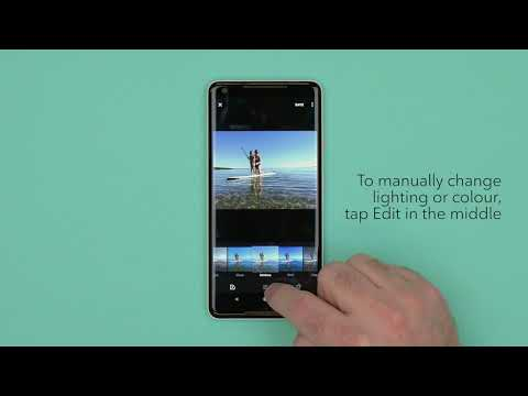 How to edit photos on an Android device