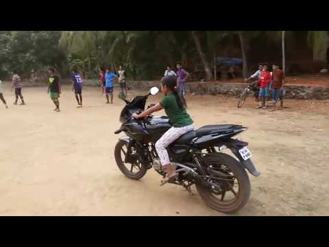 Incredible Little Girl Bike Stunts | Pulsar Bike Stunts 2017 | People Are Awesome 2017 | Talentdunia