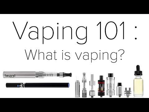 Vaping 101 for Beginners : What is Vaping?