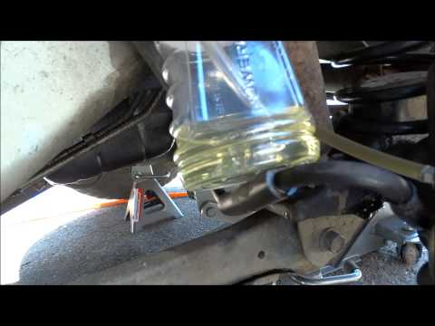 How To Bleed a Brake Caliper, Solo