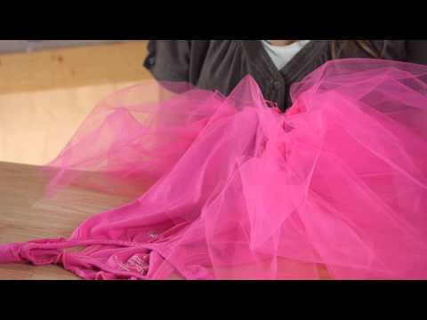 How to Sew a Tutu to a Shirt : Tutus, Ribbons & Other Crafts