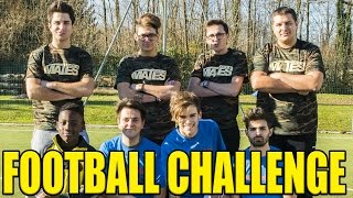 IPANTELLAS VS MATES - FOOTBALL CHALLENGE - iPantellas