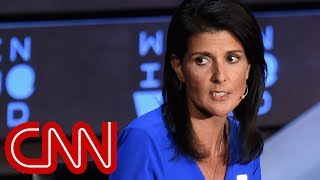 Nikki Haley booed over Russia answer