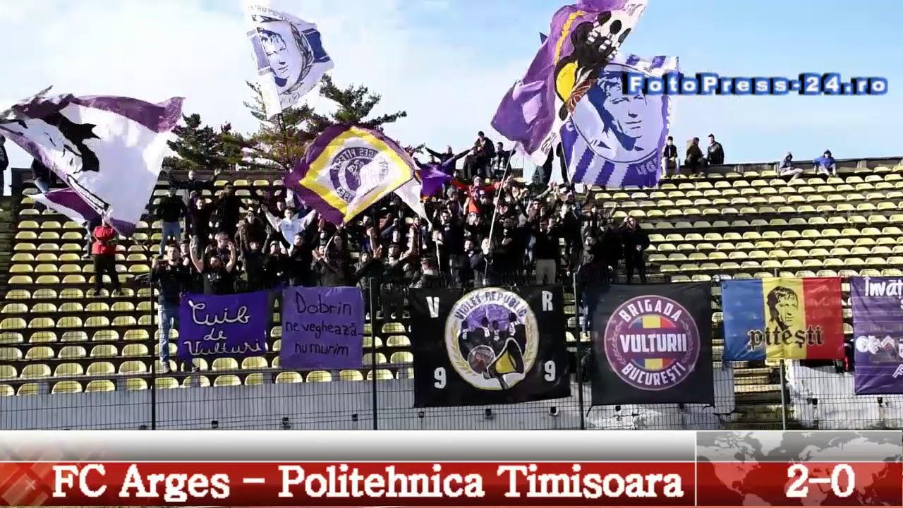 1   FC Arges -  Politehnica Timisoara     2- 0