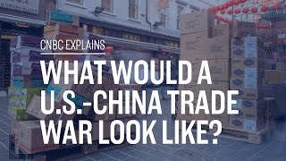 What would a U.S.-China trade war look like? | CNBC Explains